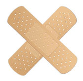 Bandage Cross — Stock Vector