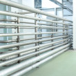 Pipes in an empty room — Stock Photo