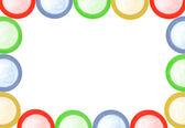 Colored condoms — Stock Photo