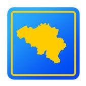Bosnia and Herzegovina European button — Stock Photo