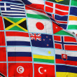 Flags of the world — 图库照片