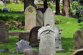Old Victorian gravestones — Stock Photo