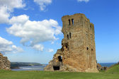 Scarborough Castle ruins — Stock Photo