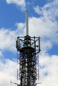 Telecommucations mast — Foto Stock