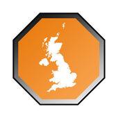 England or United Kingdom sign — Stock Photo