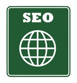 SEO sign — Stock Photo