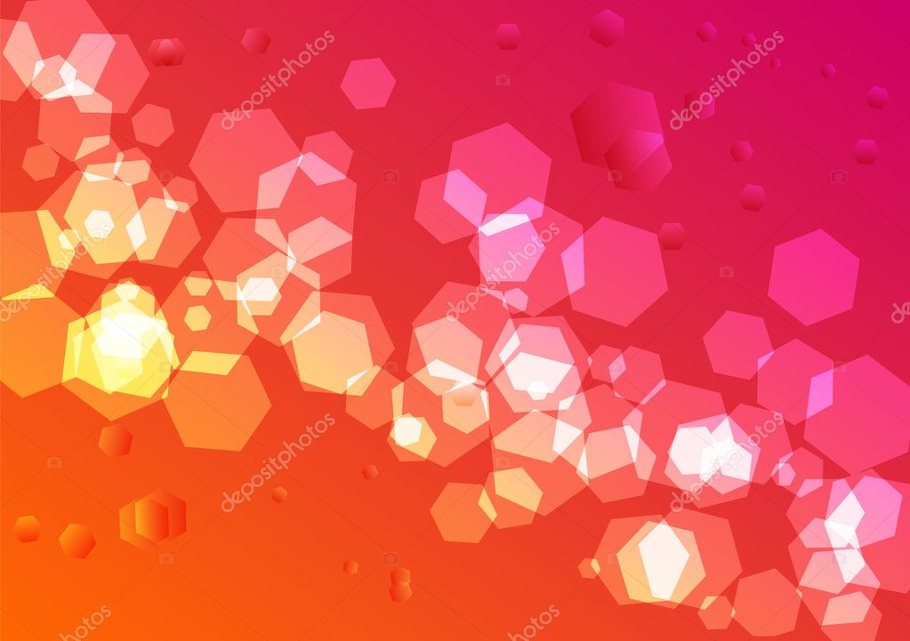 Vector illustration of Astract polygonal background — Stock Vector #8998542