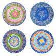 Round rugs Handmade — Stock Photo