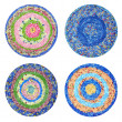 Stock Photo: Round rugs Handmade