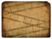 Tira de película. antigua postal. — Foto de Stock