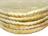 Pizza crusts, close-up — Stock Photo