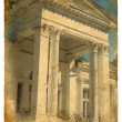 Stock Photo: Fragment of building in classical style.