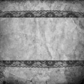 Vintage black and white background — Stock Photo