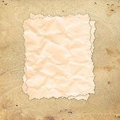 Wzór papieru z postrzępione krawędzie. — Zdjęcie stockowe