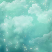 Mystical blue abstract background. — Stock Photo