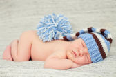 New born baby sleeping — Stock Photo