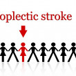 Apoplectic stroke — Stock Photo