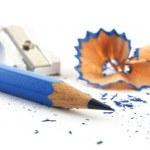 Blue crayon — Stock Photo #8477623