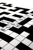 Crossword puzzle — Stock Photo