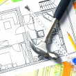 Architectural drawing — Stockfoto