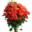 Stock Photo: Bunch of red roses