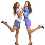 Two girls — Stock Photo