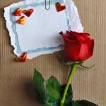Sevgililer günü kartı — Stok fotoğraf
