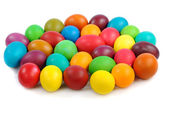 Heap of easter eggs — Stock Photo