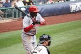 Cincinnati Red's Brandon Phillips — Stock Photo