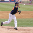 Royalty-Free Stock Photo: Binghamton Mets pitcher Brandon Moore
