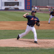 Binghamton Mets pitcher Brandon Moore - Stock Photo
