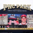 Joey Votto of the Cincinnati Reds — Stock Photo