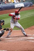Brandon Phillips of the Cincinnati Reds — Stock Photo
