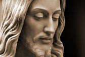 Sepia Christ — Stock Photo