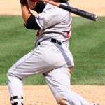 Baaeball batter swinging — Stock Photo #9650271