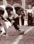 American Football, Offensive Linemen — Stock Photo