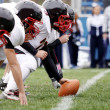 Постер, плакат: American Football Offensive Linemen