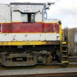 Stock Photo: Diesel Train Engine
