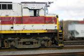 Diesel Train Engine — Stock Photo