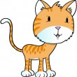 Постер, плакат: Cat Kitty Pet Vector Illustration