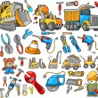 Stock Vector: Construction Vector Design Elements Set