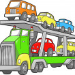Big Truck Vector Illustration — Stock Vector