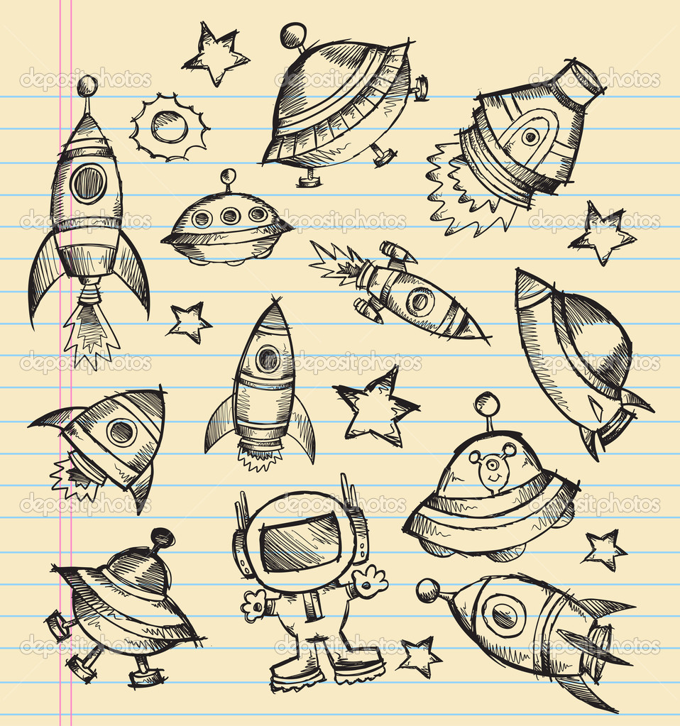 astronomy doodles - photo #40