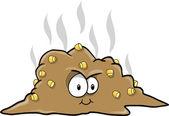 Turd Poop Vector Illustration — Stock Vector