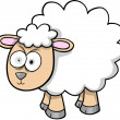 Royalty-Free Stock Vector Image: Crazy Sheep Lamb Vector Illustration
