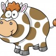 Royalty-Free Stock Vector Image: Crazy Cow Vector Illustration