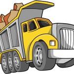 ������, ������: Vector Illustration of a Dump Truck