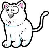 Cat Kitten Vector Illustration Art Animal Pet — Stock Vector