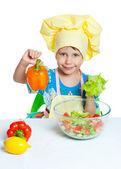 Child cook — Stock Photo