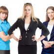 Three businesswomen — Stockfoto